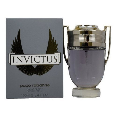 Men's Invictus by Paco Rabanne Eau de Toilette Spray - 3.4 oz