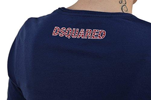 Dsquared2 Women's T-SHIRT D Blue - size M/L