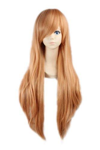 Xcoser Asuna Yuuki 100CM Long Wig Hair Accessories for Cosplay -