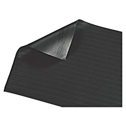 Guardian Air Step  Anti-Fatigue Floor Mat, Vinyl, 3\'x5\', Black