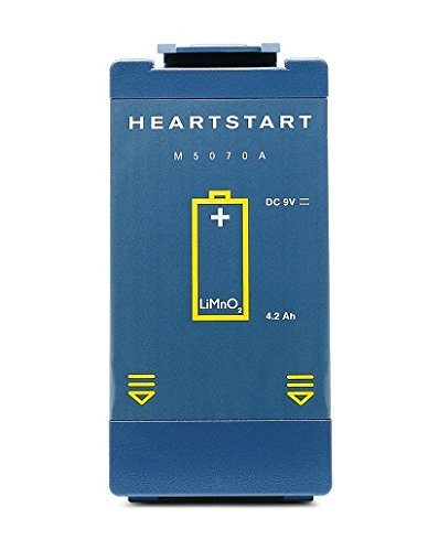 Philips Medical Systems Heartstart FRx Defibrillator Battery - Standard - Model M5070A - Each by Philips