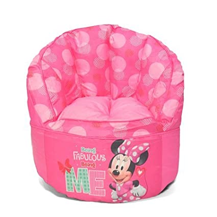 Amazon.com: Puf para niños con Minnie Mouse: Toys & Games