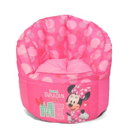 Pleasing Minnie Mouse Kids Bean Bag Chair Creativecarmelina Interior Chair Design Creativecarmelinacom