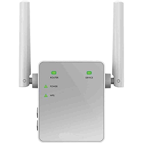 Netgear EX3700 Repetidor de red Wifi extensor amplificador de cobertura AC750 doble banda velocidad de hasta 750Mbps puertlo LAN gigabit compatibilidad universal