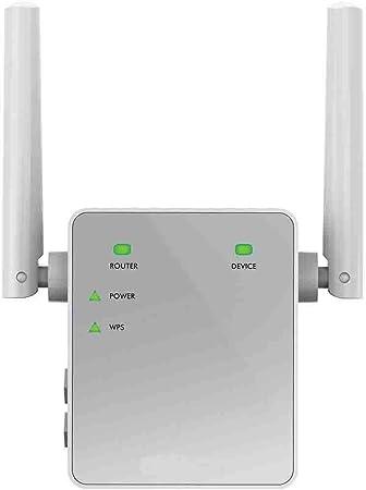 Netgear EX3700 Amplificador de WiFi AC750 Mbps, repetidor de WiFi Dual-Band, Antenas WiFi externas, 1 Puerto