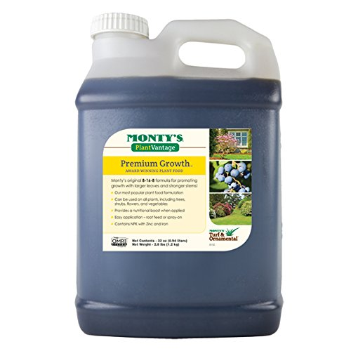- Monty's Plant Food Company 32 oz Plant Vantage Premium Growth Fertilizer-(503320)