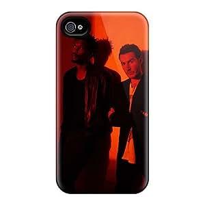 JamieBratt Iphone 4/4s Great Hard Phone Cases Customized Colorful Massive Attack Band Series [uSR13806kApz]