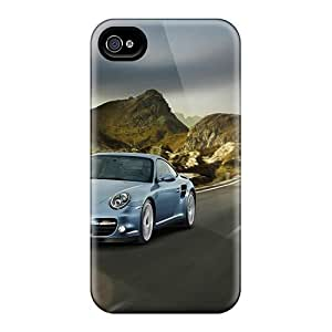 Tpu Case For Iphone 4/4s With 2011 Porsche 911 Turbo S