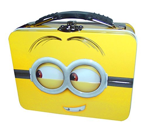 (Despicable Me Minion Mini Tin Tote Box 4.125