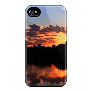 Hot AELMdCc2321mQxmG Sunset In Minneapolis Tpu Case Cover Compatible With Iphone 4/4s