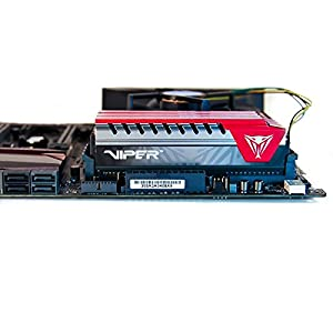 Patriot Viper Elite PVE416G280C6KRD Extreme Performance 16GB (2 x 8GB) DDR4 Kit PC4-22400 (2800MHZ) Red