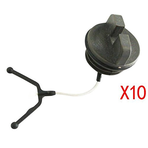 JRL Black Fuel Tank Cap Fit For Chainsaw Husqvarna 55 136 137 141 142 254 Part Huang Machinery