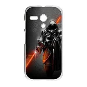Motorola G Cell Phone Case White Star Wars Warrior Dnoog