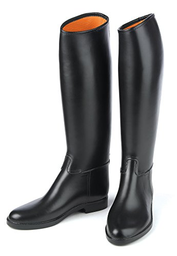 Ovation Derby/Cottage – Men's Lined Rubber Riding Boot 9 Reg Black