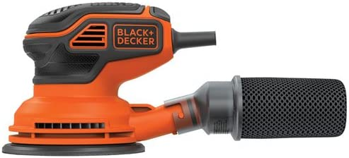 BLACK DECKER Random Orbit Sander, 5-Inch BDERO600