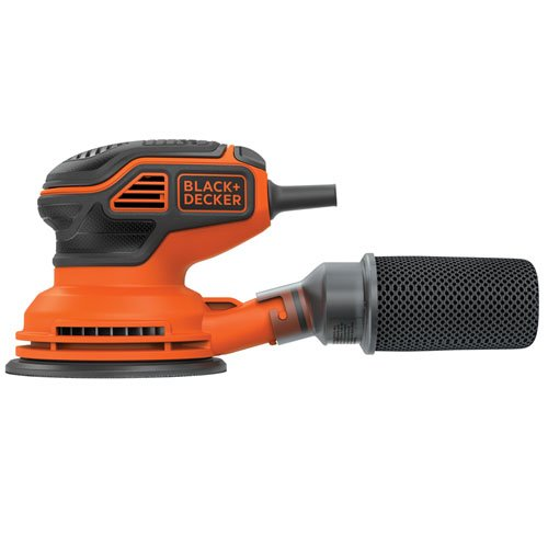 BLACK+DECKER BDERO600 Random Orbit Sander with Paddle Switch Actuation