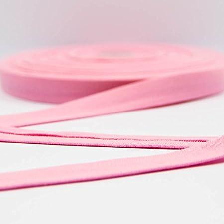 Algodón Jersey cinta al bies de color rosa – Precio de 1 metro: Amazon.es: Hogar