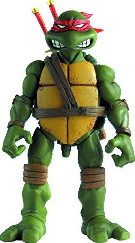 Mondo Tees Teenage Mutant Ninja Turtles: Leonardo Collectible Figure (1:6 Scale) (Ninja Book Turtle Comic Toys)