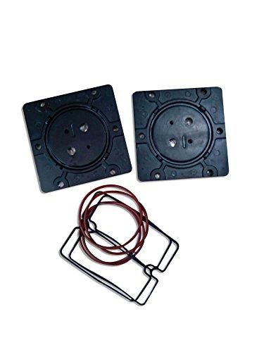 Nueva placa de válvula de repuesto para greeloy Compresor De Aire Silencioso Sin Aceite GA-