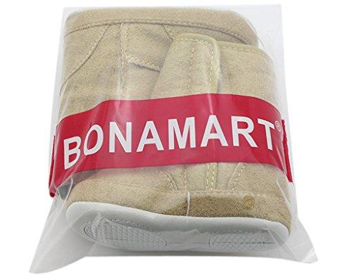 BONAMART ® Baby Junge Mädchen Schneestiefel Schuhe Winter Boots Booties Stiefel 13cm Khaki3-6M