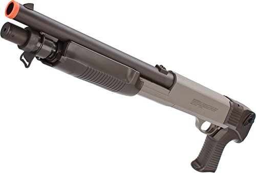 Evike - CYMA M3 3-Round Burst Multi-Shot Shell Loading Airsoft Shotgun (Model: USMC Special - Edition Bb Gun Airsoft Special