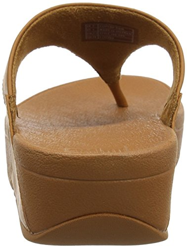 Lulu 098 Ouvert Brown Femme caramel Bout Toepost Fitflop Leather Sandales PwxqTSS