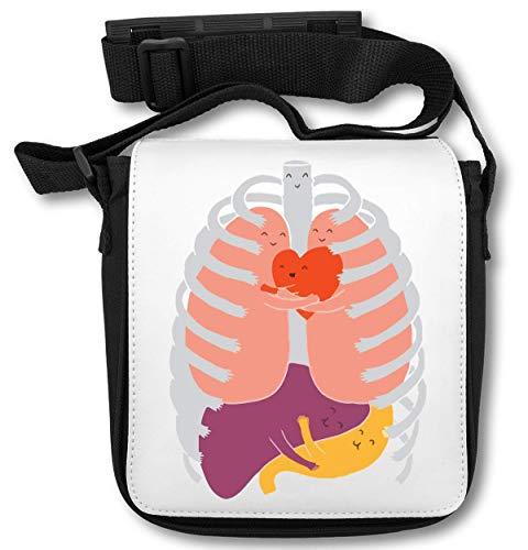 Organs Healthy Tracolla And Internal A Borsa Happy Cute wPISOxqn6E