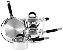 Hamilton Beach 94109 Contempo 7 Piece Coowkare Set, Stainless Steel