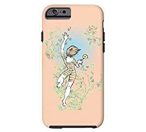 Aimlessness. iPhone 6 Apricot Tough Phone Case - Design By Humans