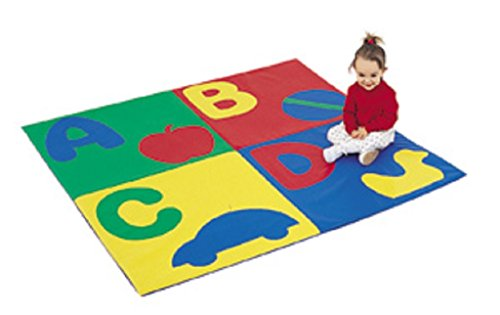 ABC Crawley Mat by Children's Factory