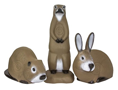 - Shooter 3D Archery Targets - Little Shooters - Muskrat, Prarie Dog and Rabbit - 3 Pack 3D Targets