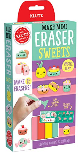 Klutz Make Mini Eraser Sweets Craft Kit