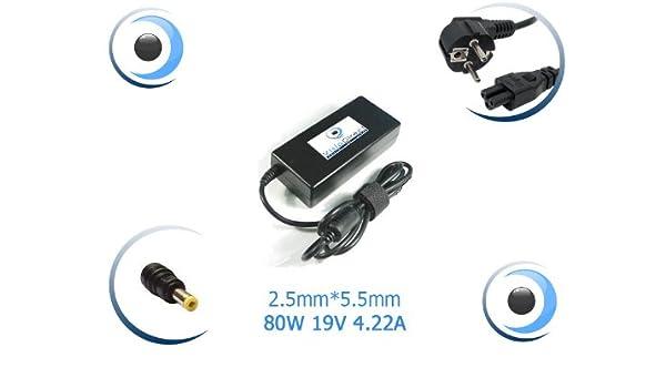 Adaptador de corriente/cargador para ordenador portátil Fujitsu Siemens Amilo Li 2735 píxeles: Amazon.es: Electrónica