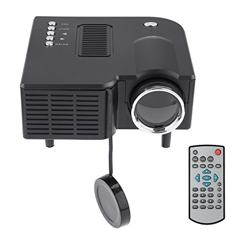 Low Power Mini VGA/USB/SD/AV/HDMI Portable Mini Digital LED Entertainment LCD Projector For Home Cinema Theater PRO HDMI Portable Mini LED Entertainment Projector Home Cinema Theater by Water-chestnut