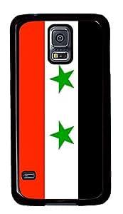 Samsung Galaxy S5 Syria Flag PC Custom Samsung Galaxy S5 Case Cover Black