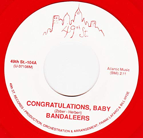 45vinyl CONGRATULATIONS BABY / THIS I SWEAR (7