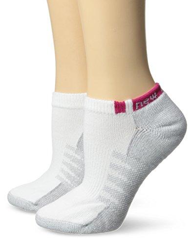 New Balance No Show 2 with Coolmax 2 Pair Folder Socks, Medium, Assorted