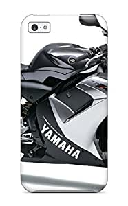 7321413K25484527 Ultra Slim Fit Hard Case Cover Specially Made For Iphone 5c- Yamaha Motorcycle