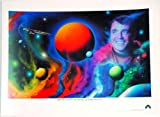 Star Trek Original Series James Doohan as Scotty Memorial Lithograph 24 x 18 inches - Limited Edition