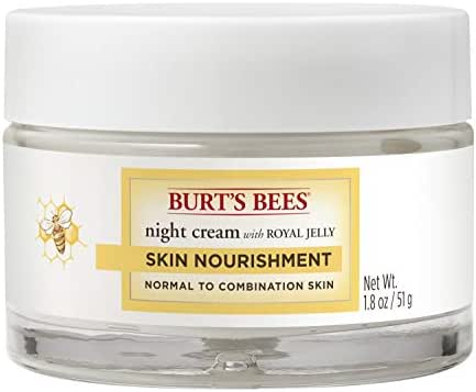 Facial Moisturizer: Burt's Bees Skin Nourishment Night Cream