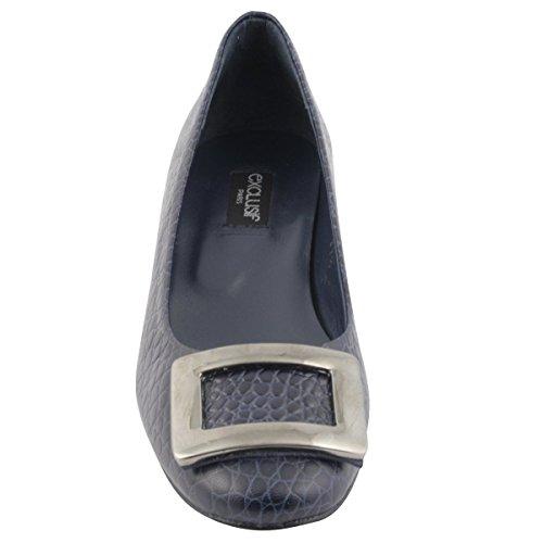 Exclusif Paris Women's Court Shoes Blue tJfULB