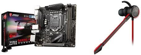 MSI Z370I Gaming PRO Carbon AC - Placa base Performance (chipset Intel Z370, socket LGA 1151 + MSI - Auriculares con micrófono