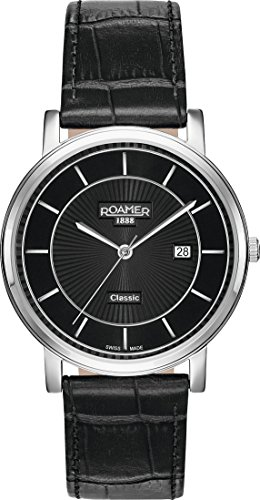 Roamer CLASSIC LINE GENTS 709856 41 57 07 Mens Wristwatch Swiss Made