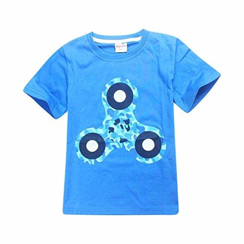 Ihram Kids For Sale Dubai: Orangeskycn Leopard Print Toddler Baby Boy T Shirt Tops