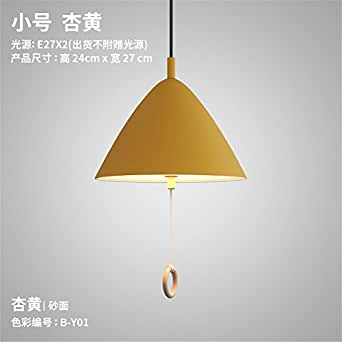 ZLYAYA Pendant Light,Chandelier,Modern simple lighting personalized restaurant bar bar Makara pull line switch bedroom bedside
