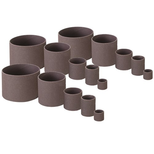 STANDARD DRUM SANDER 15 PC REPLACEMENT SLEEVES By Peachtree Woodworking - PW116 (Drum Refill)