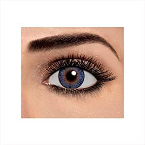 One Pair Of Freshlook Contact Lenses Blue Colour (-3.50) Power