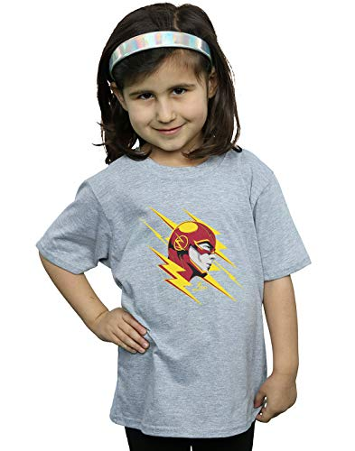 Fille Lightning Gris Dc Flash T Comics The Portrait shirt Sport HwIHqA