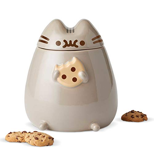 Enesco 6002674 Pusheen by Our Name is Mud Sculpted Cookie Jar 8