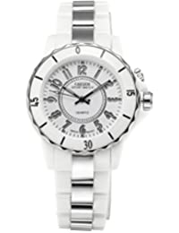 AMPM24 White Sport Fashion Led Multi-Color Backlight Lady Womens Plastic Watch Gift OHS001
